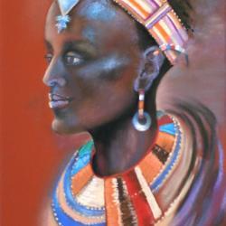 Jeune Fille Samburu