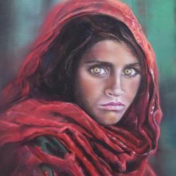 l'Afghane aux yeux verts