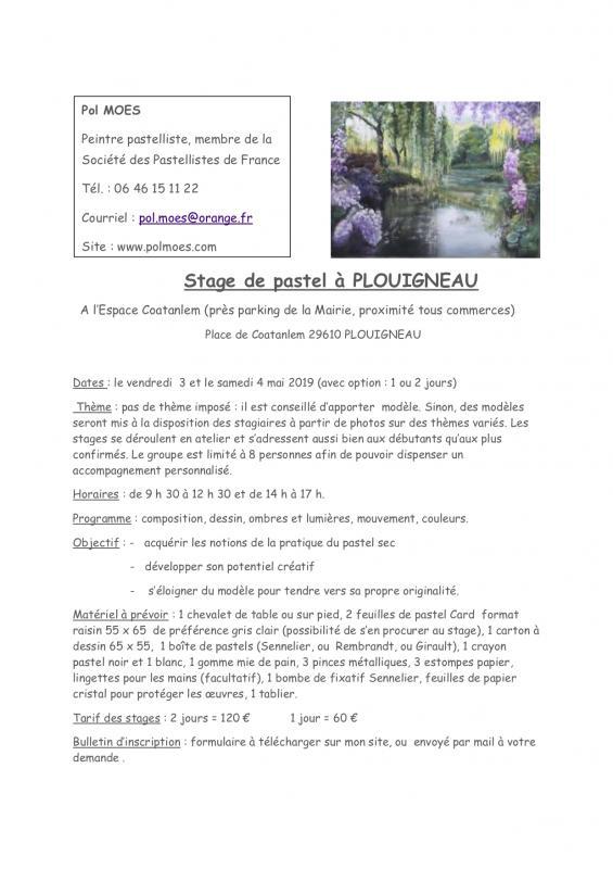 Stage pastel plouigneau 3